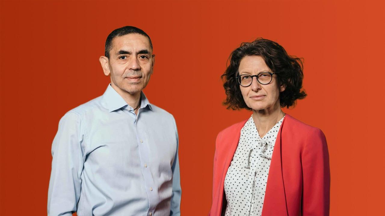 FT, aşıyı bulan Özlem Türeci ve Uğur Şahin'i 'Yılın Kişisi' seçti