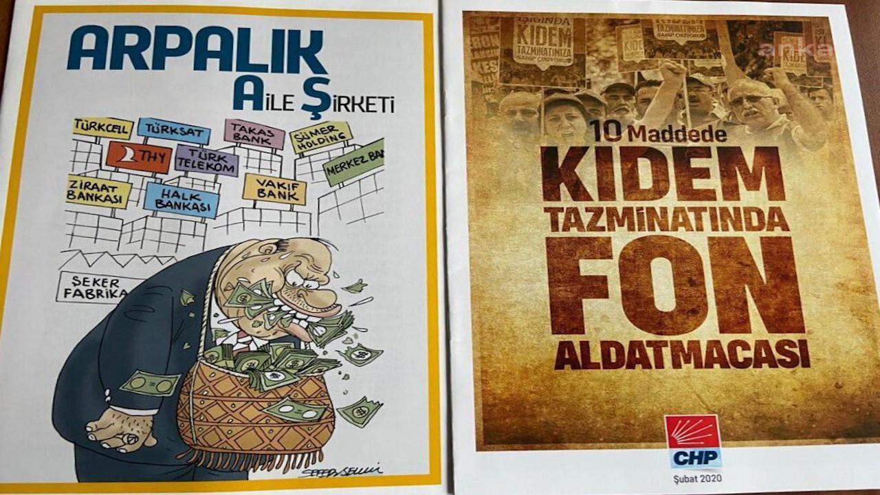 CHP'nin yasaklanan kitapçıkları için özgürlük kararı