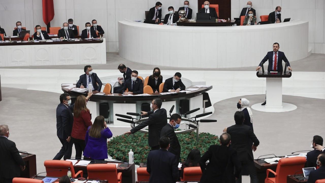 Meclis'te tartışma: AK Partili Eyüp Özsoy'a uyarı cezası verildi