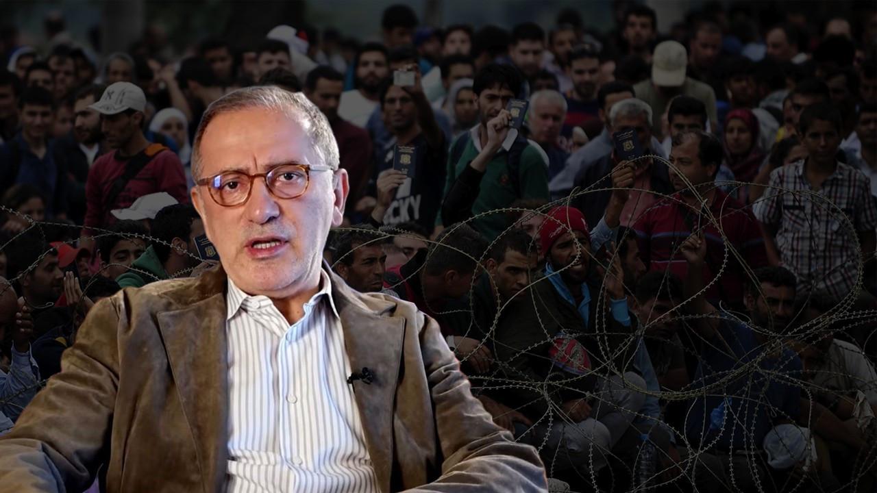 Fatih Altaylı'dan Suriyeli mültecilere nefret söylemi