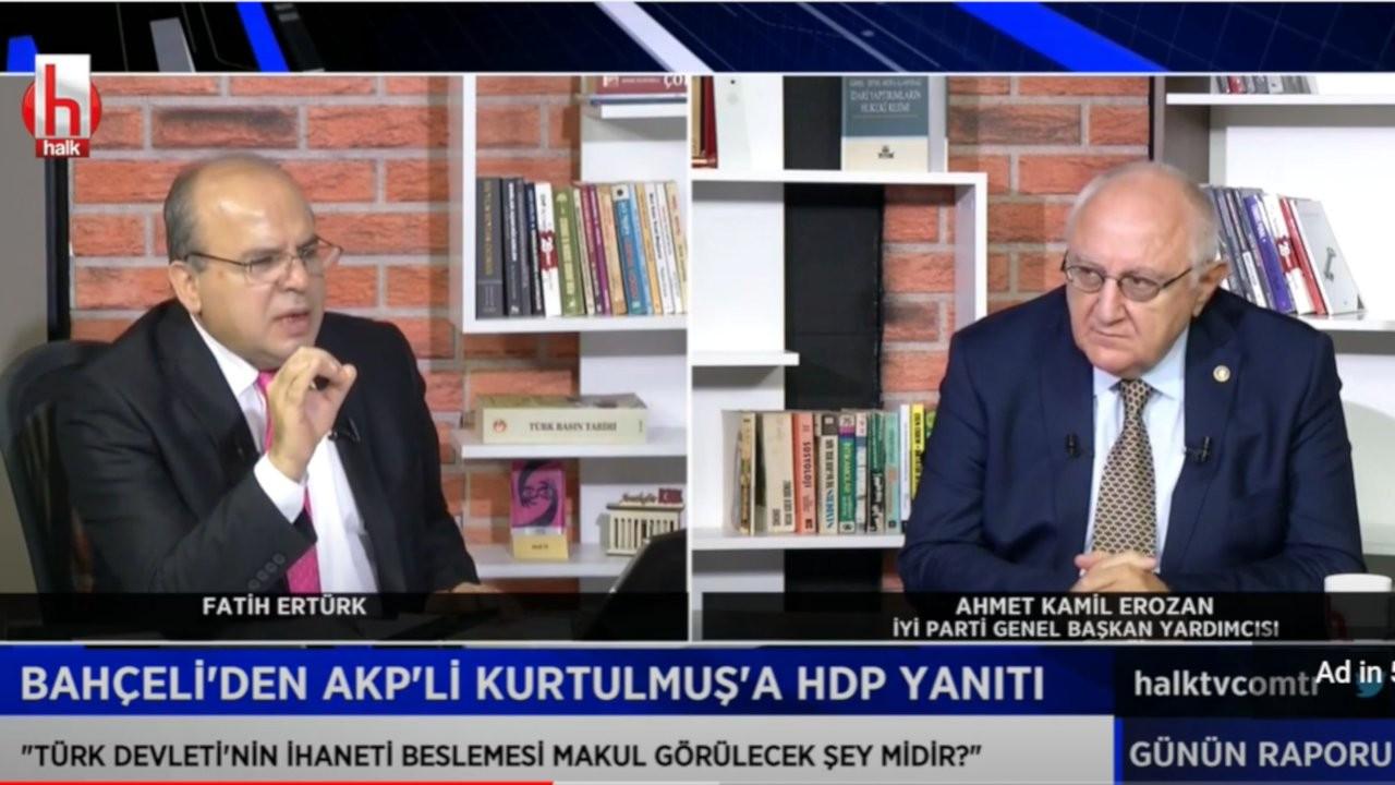 Halk TV sunucusu Ertürk: HDP Türkiye'nin varlığıyla ilgili değil, neden parlamentoda?