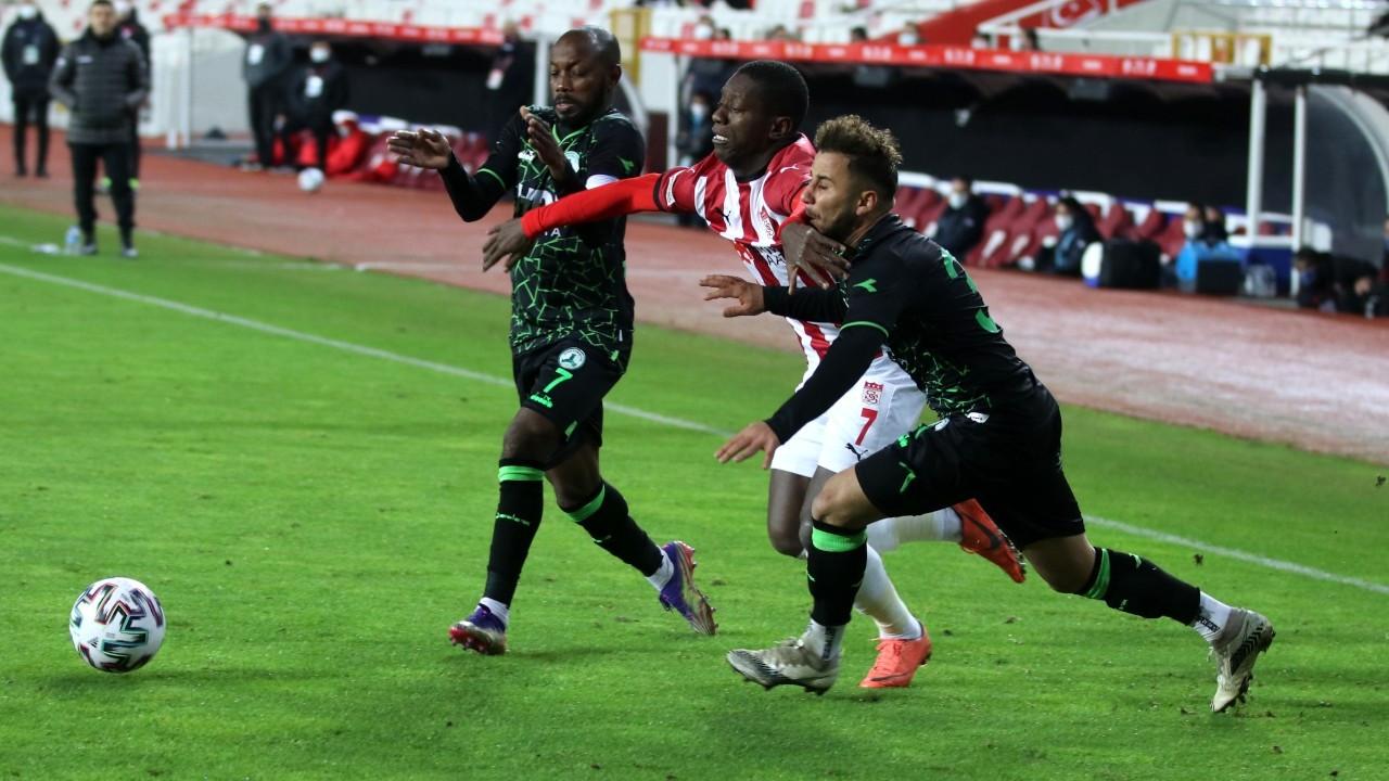 Sivasspor, turu 90+2'de geçti