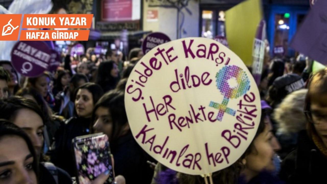 Kadına karşı şiddetin ve şiddetle mücadelenin dili