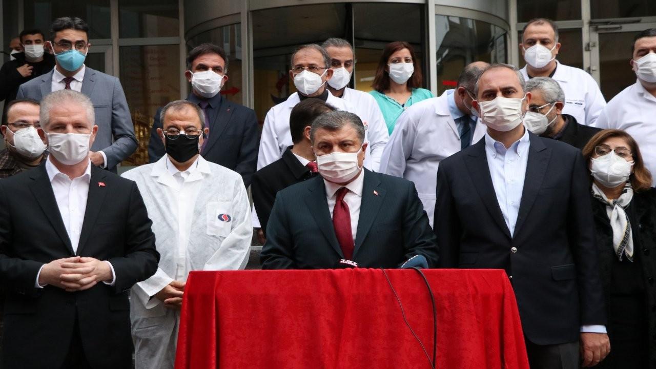 Fahrettin Koca: Yangın oksijen cihazından çıktı