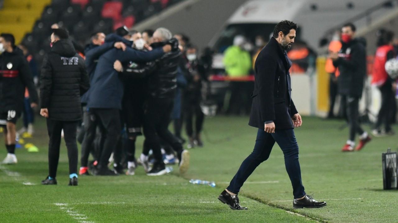 Fenerbahçe'nin deplasmandaki galibiyet serisi Gaziantep'te sona erdi