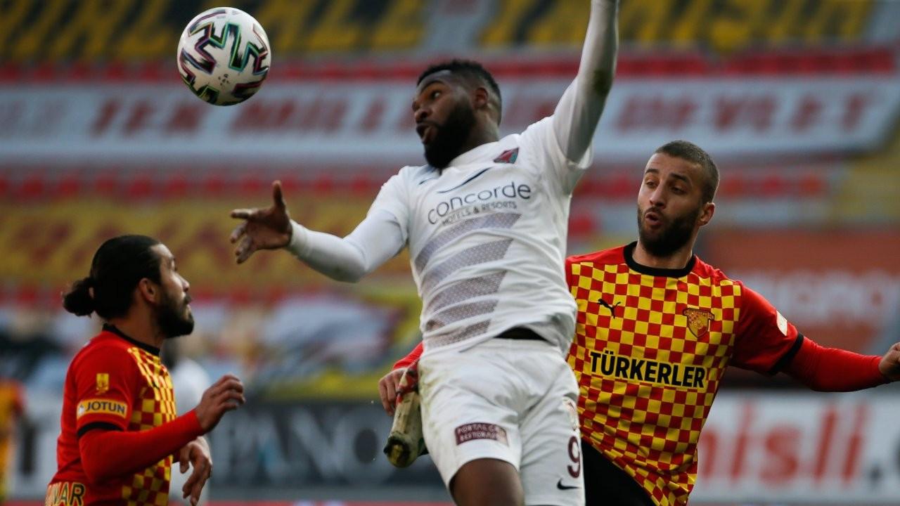 İzmir'de Hatayspor kazandı: 0-1