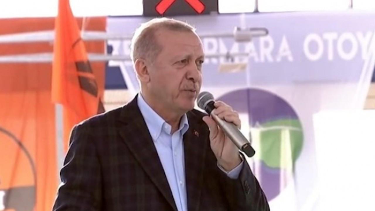 Erdoğan otoyol açılışında konuştu: Zafere kadar durmayacağız