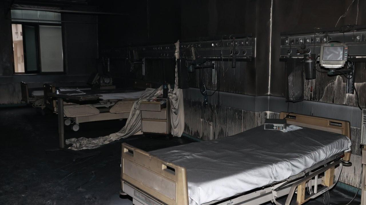 Hastane yangınında ölü sayısı 11'e yükseldi