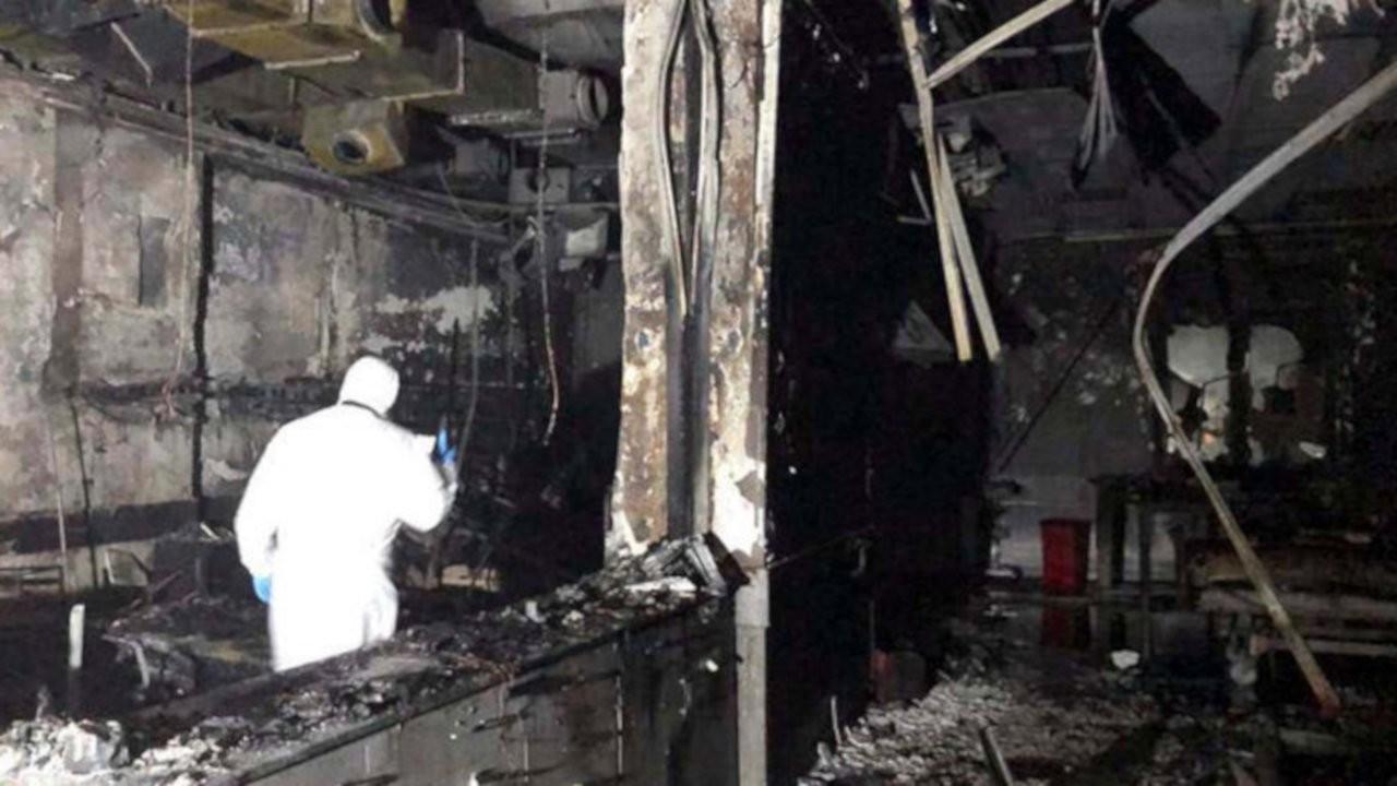 Sanko Hastanesi'nde ilk tespit: Patlama değil yangın