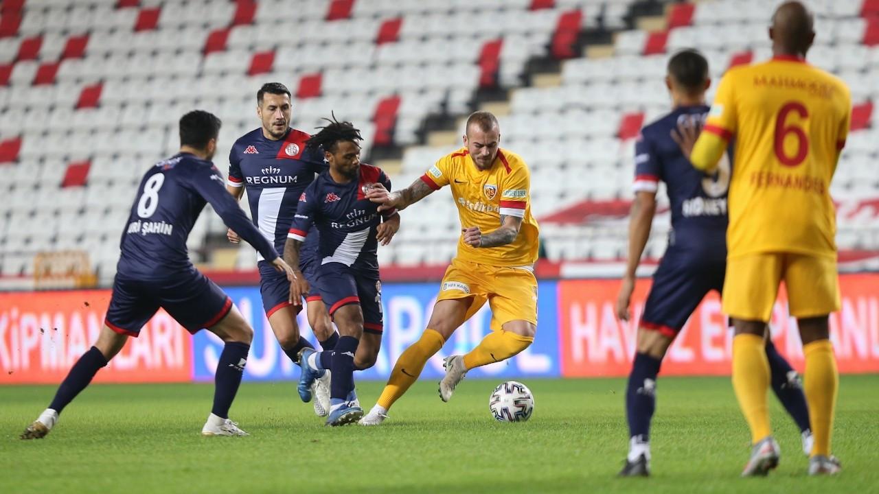 İki golün iptal edildiği mücadeleyi Antalyaspor kazandı: 2-0