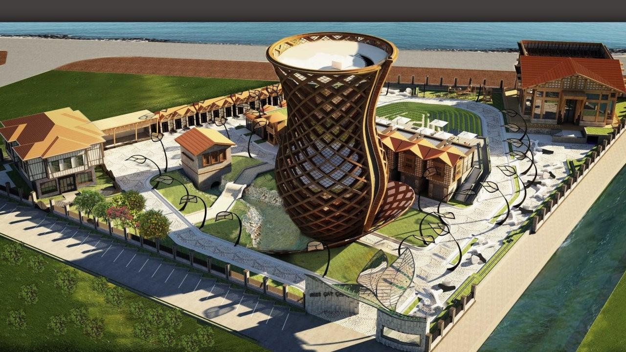 Sayıştay raporu: Rize'deki Çay Çarşısı projesi kanuna aykırı