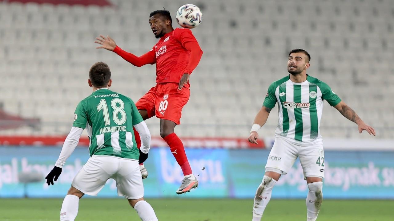 Sivasspor deplasmanda Konyaspor'u 1-0 yendi