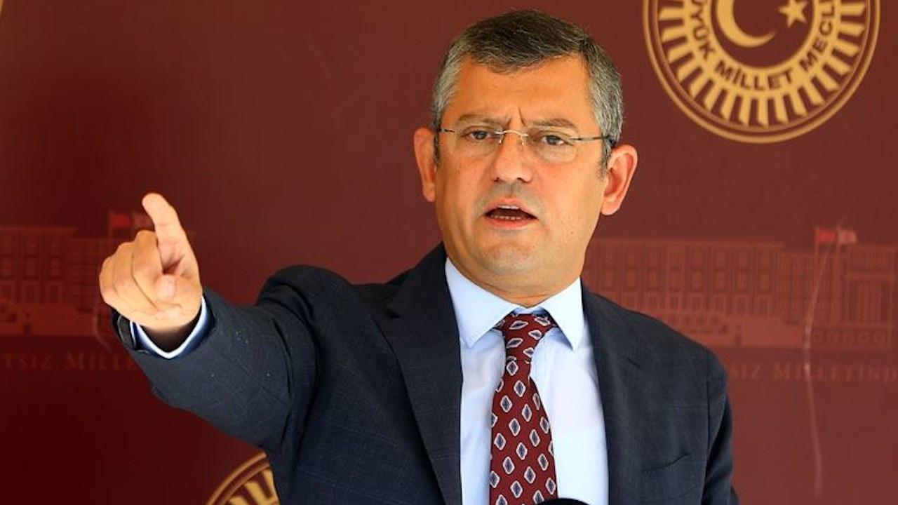 Özel'den dava yorumu: Sarayında keyif çatan Erdoğan bunları anlamaz