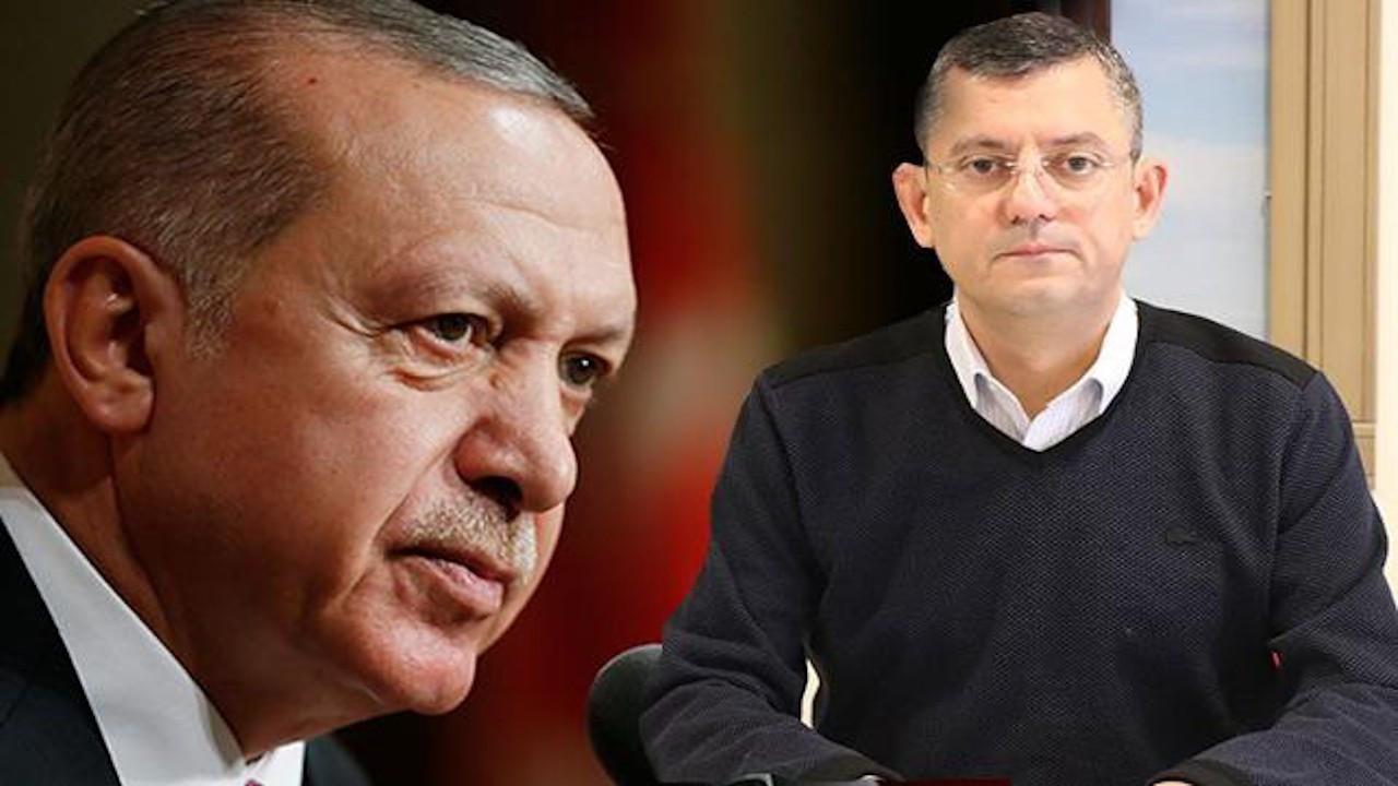 Erdoğan'dan CHP'li Özel'e 250 bin TL'lik dava