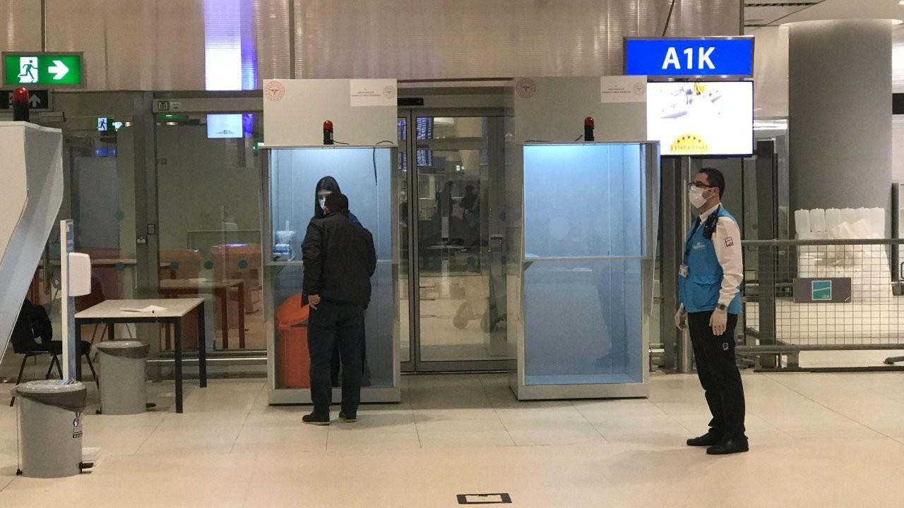 Mutasyon riski nedeniyle İngiltere'den gelen yolculara korona testi yapıldı