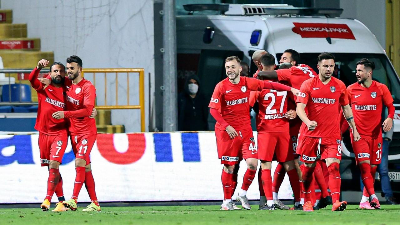 Gaziantep FK farklı kazandı
