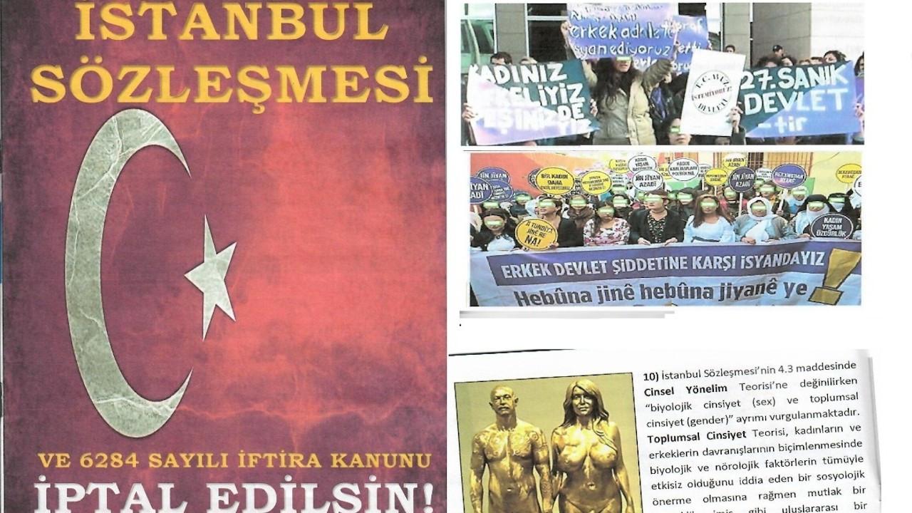 Vekil odalarına bırakıldı: İstanbul Sözleşmesi suikast silahıdır