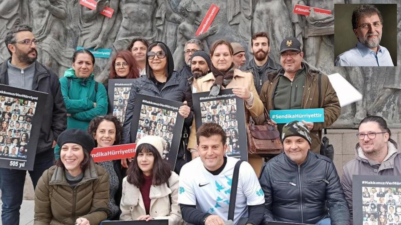 'Bize üzülmeyin Ahmet Hakan, tazminatlarımızı yatırmalarını söyleyin'