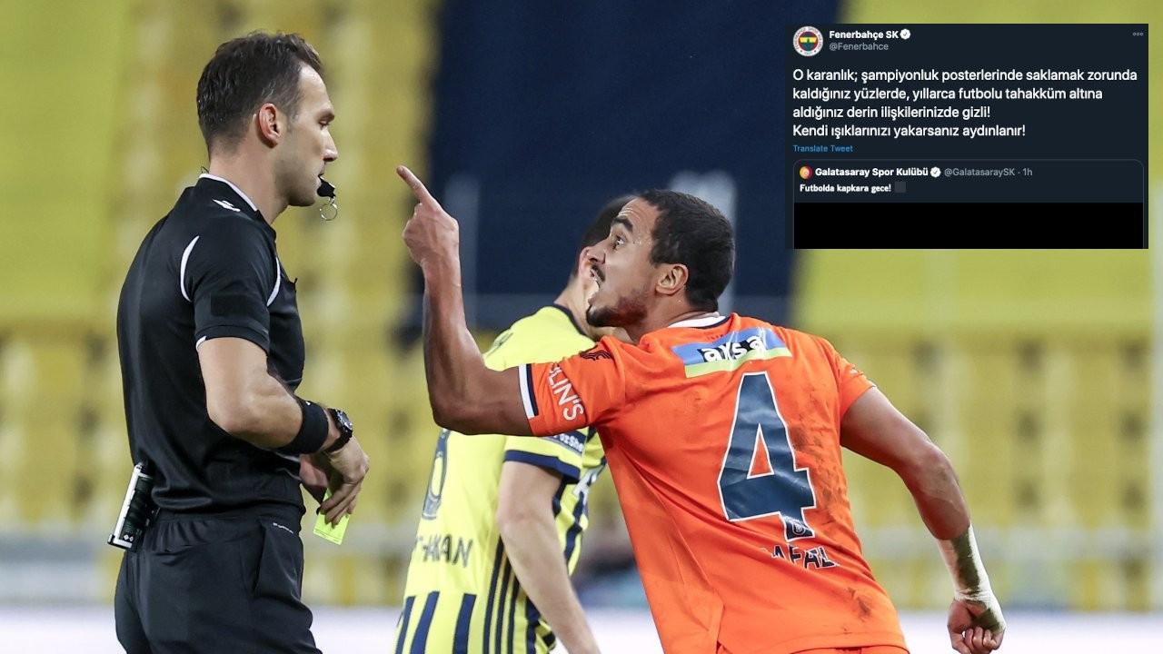 Olaylı maçın ardından 'karanlık-aydınlık' atışması