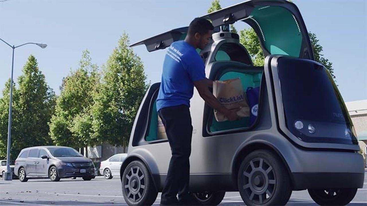 Otonom araçlarla teslimata ilk onay Kaliforniya'dan