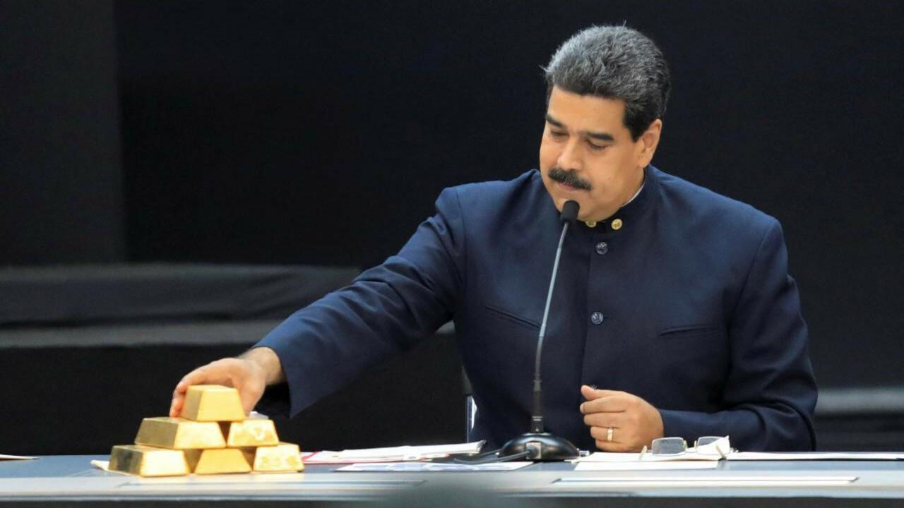 Maduro'nun altınına talip şirketin borsa işlemleri üç gün durduruldu