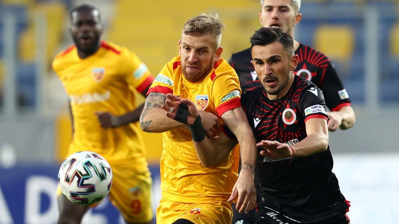 Gençlerbirliği sahasında Kayserispor'u 3-2 mağlup etti