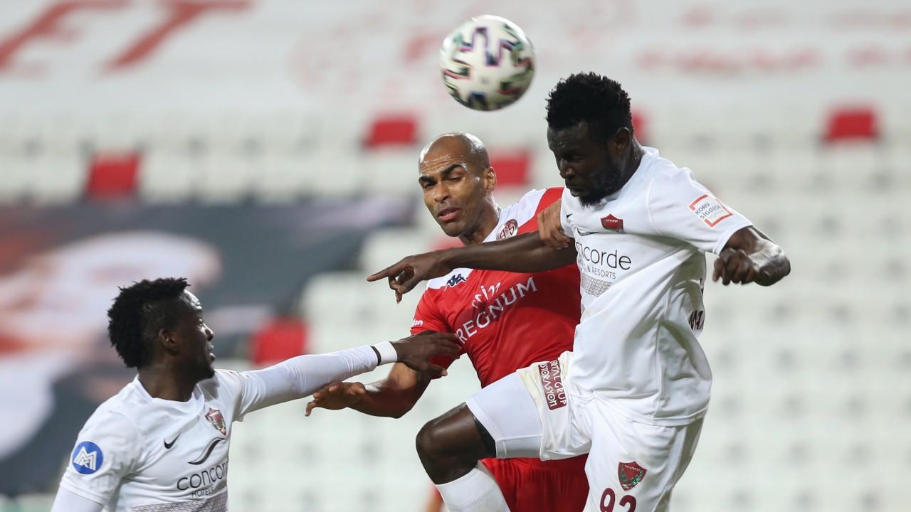 Hatayspor deplasmanda Antalya'yı farklı geçti: 6-0
