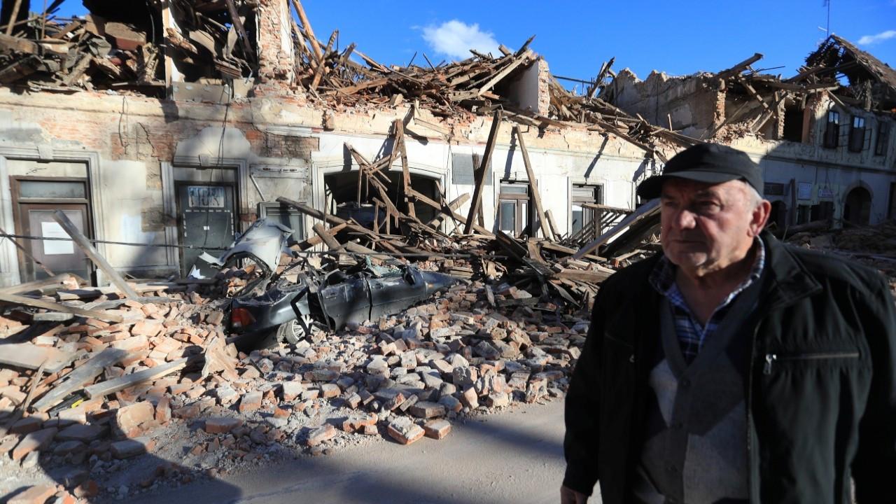 Hırvatistan'da deprem: 7 kişi öldü, 26 kişi yaralandı