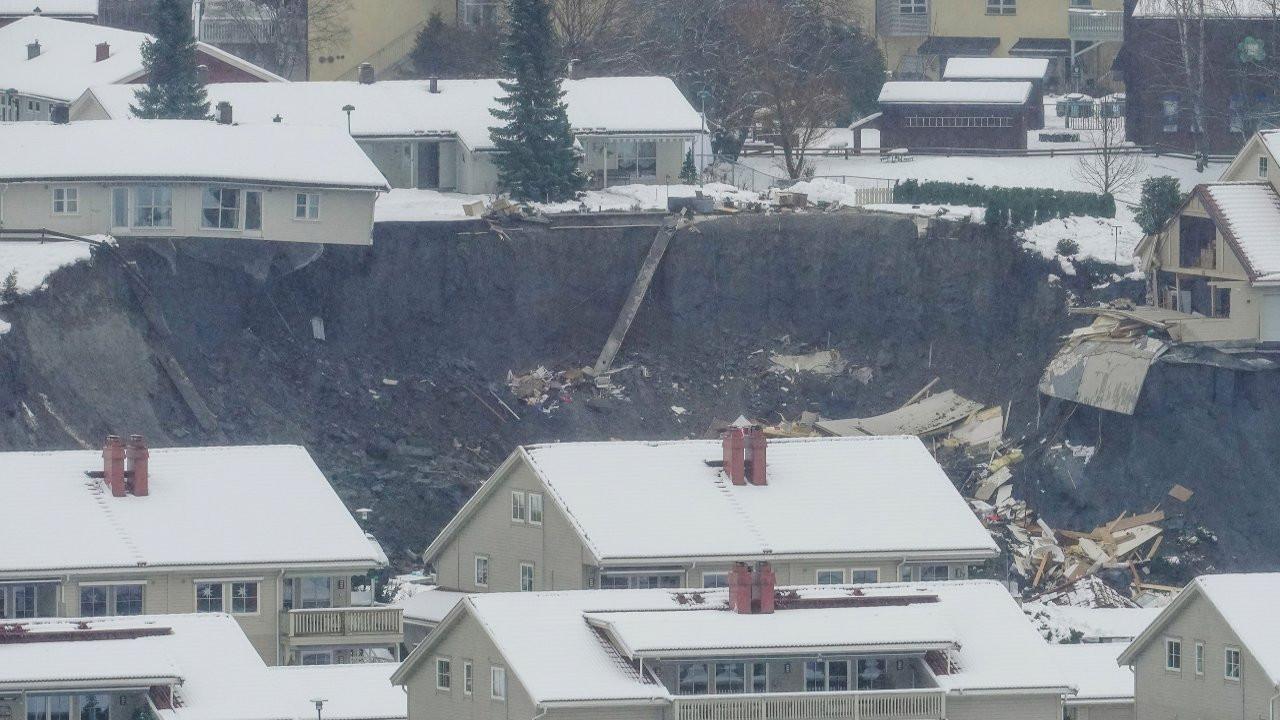 Norveç'te toprak kayması: 10 yaralı, 21 kayıp