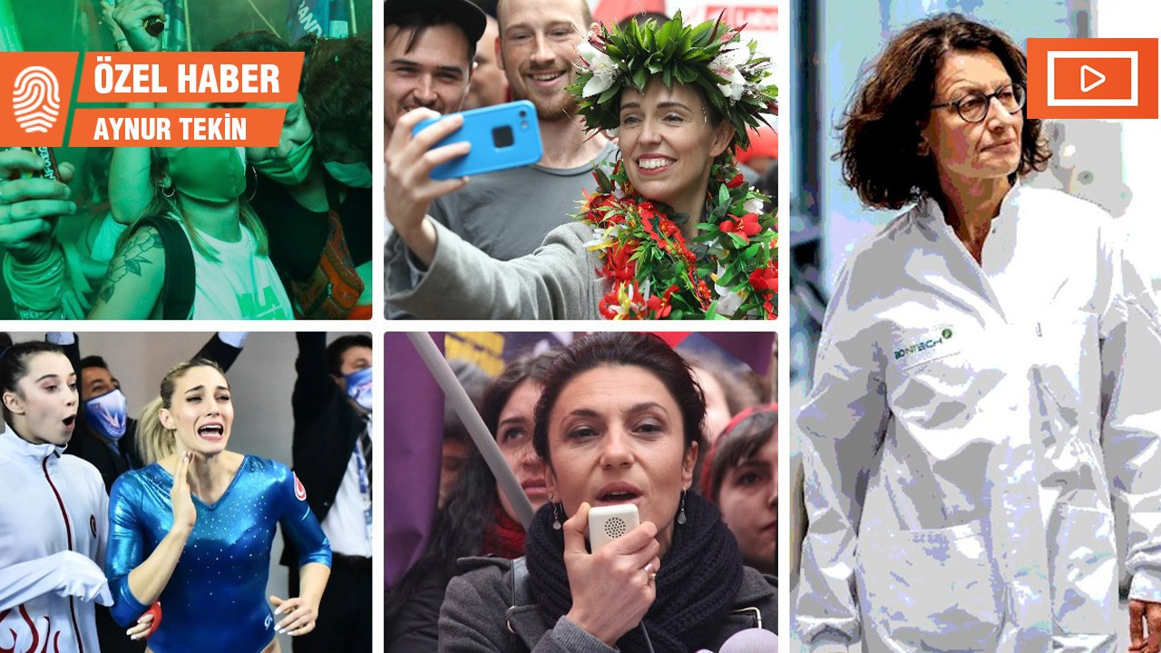 Kadınlar için 2020'nin unutulmaz anları