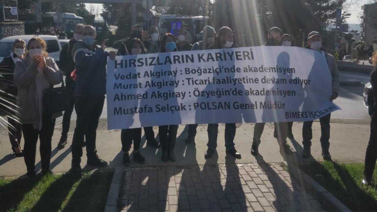 Bimeks işçilerine Boğaziçi Üniversitesi önünde gözaltı