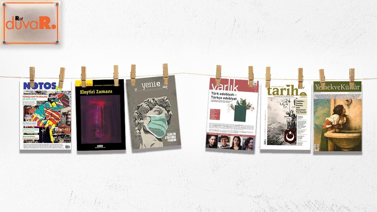 RafDuvaR: Bu ayın yeni çıkan dergileri