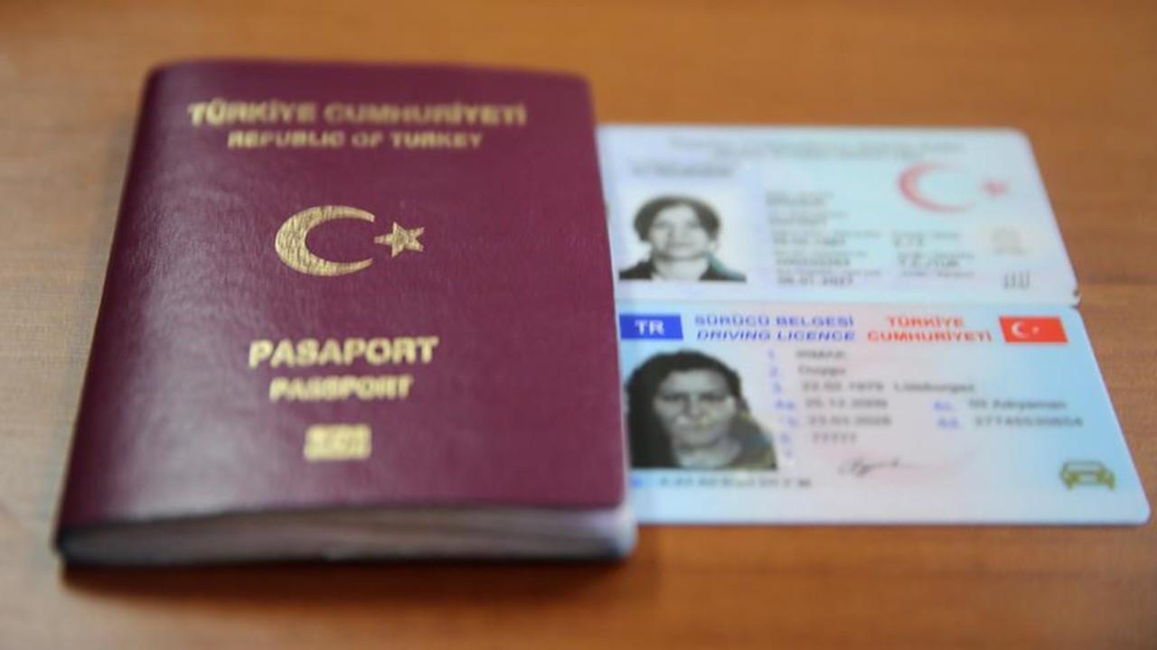 Yeni kimlik ve pasaport ücretleri yürürlüğe girdi
