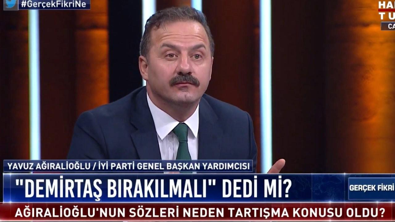 Ağıralioğlu: HDP'lilere Selahattin, Sırrı, Hasip, Emine ismini çok görüyorum