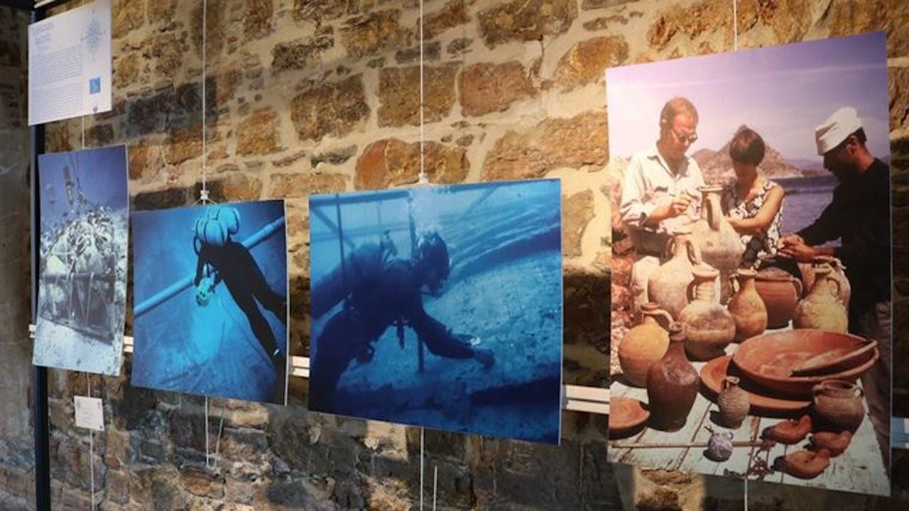 'Sualtı Arkeolojisinin Doğduğu Yer: Bodrum Türkiye' sergisi açıldı