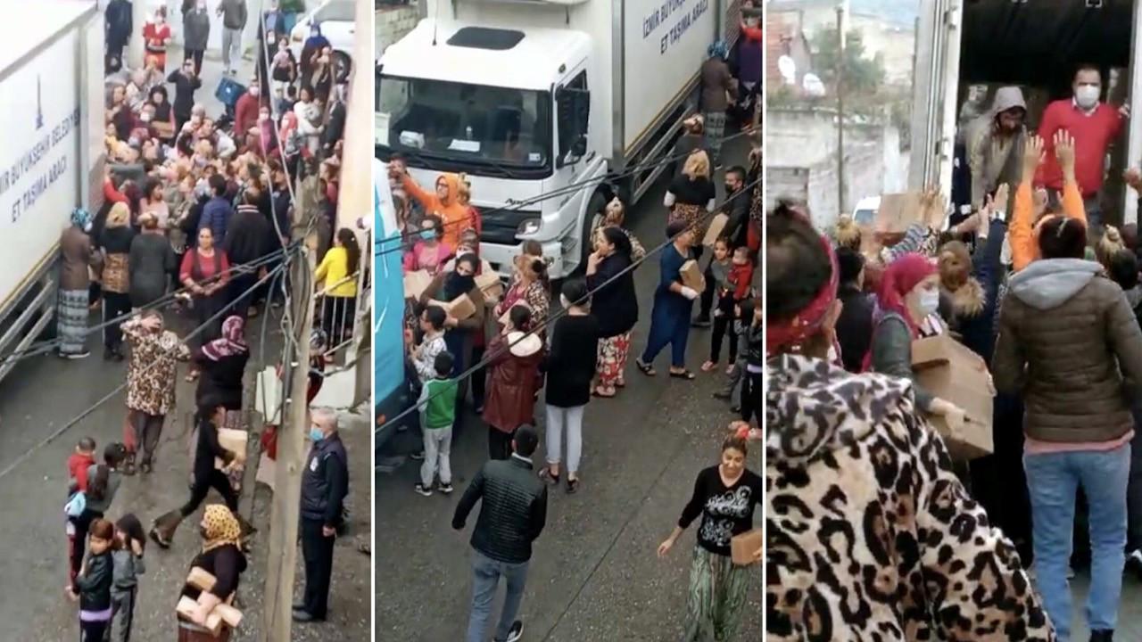 İzmir Büyükşehir Belediyesi'nden 'izdiham' özrü