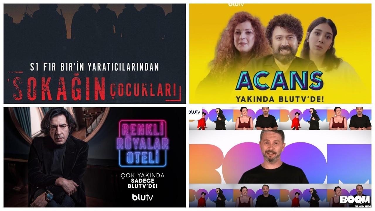 BluTV yeni yapımlarını duyurdu