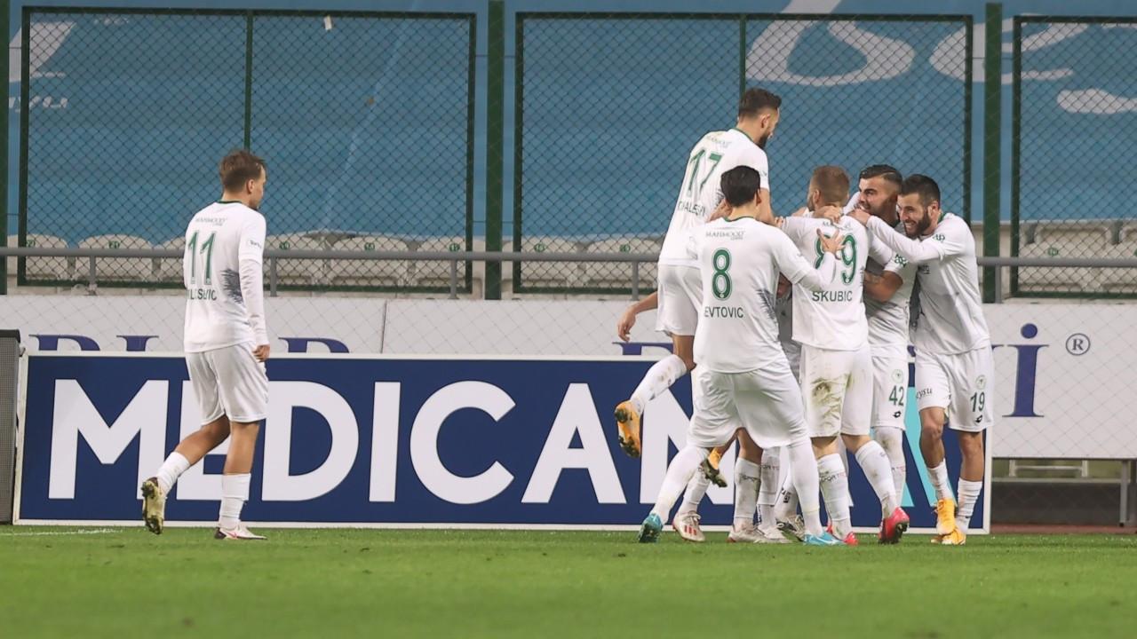 7 gollü maçta kazanan Konyaspor oldu: 4-3