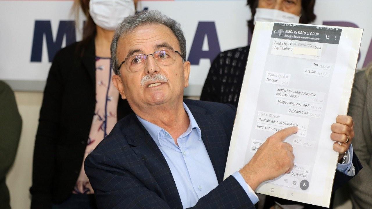 CHP'li Girgin, Sıddık Gültekin hakkında suç duyurusunda bulundu