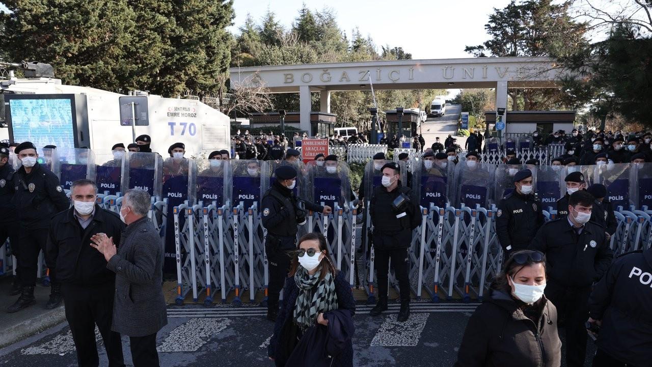 Boğaziçi'nde rektör protestosunda gözaltı sayısı 36'ya yükseldi