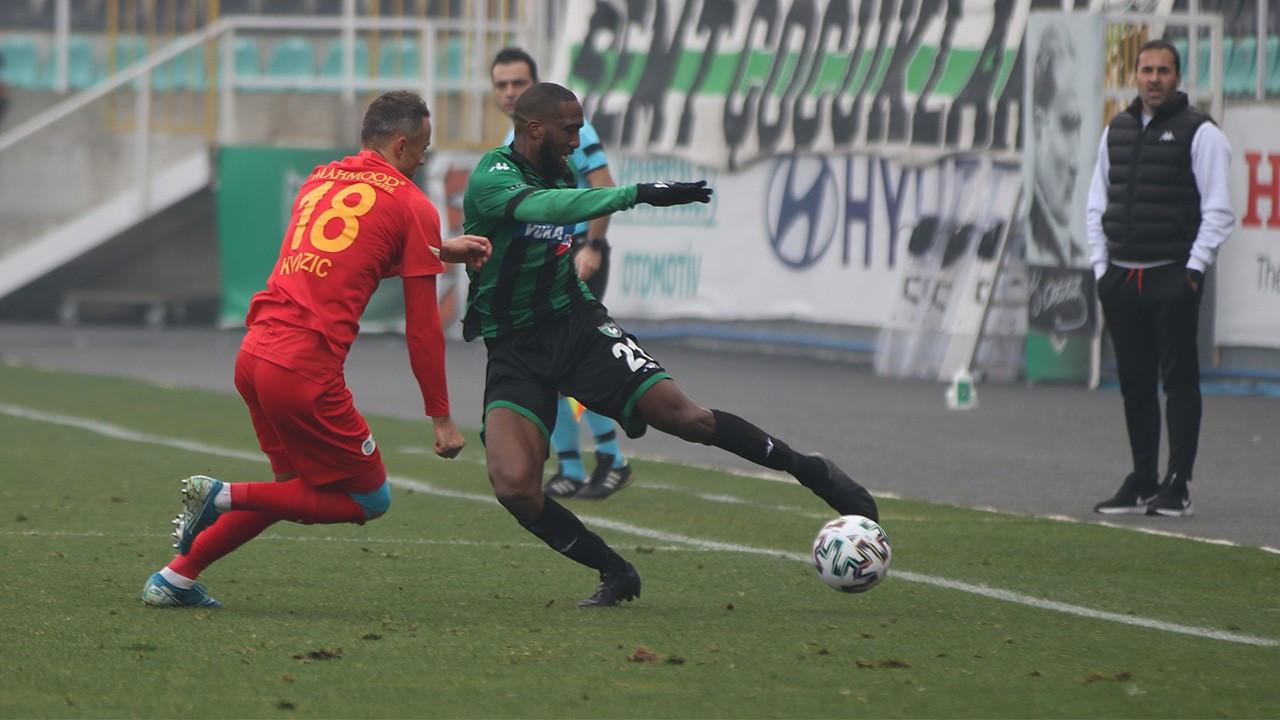 Kayserispor Denizli deplasmanında tek golle kazandı