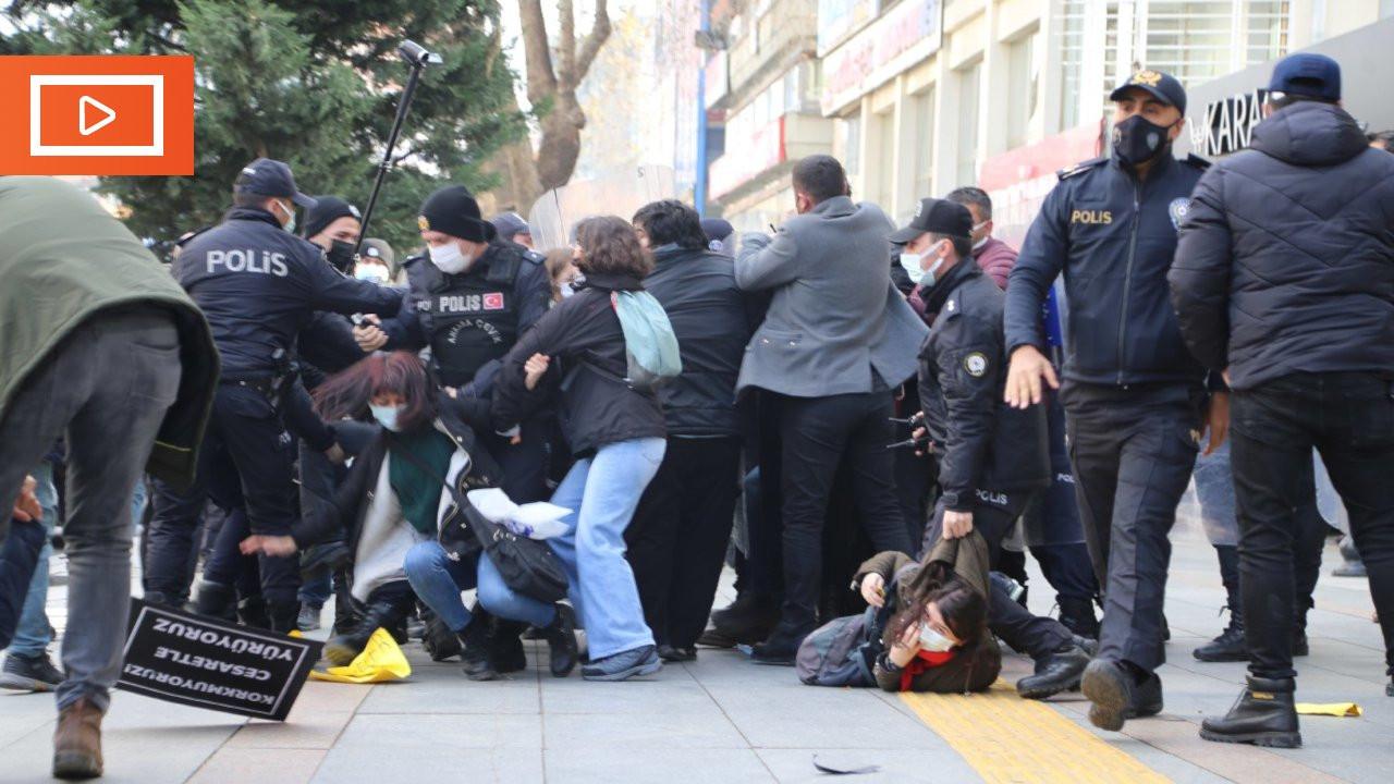 Ankara'daki Boğaziçi eyleminde öğrenciler gözaltına alındı