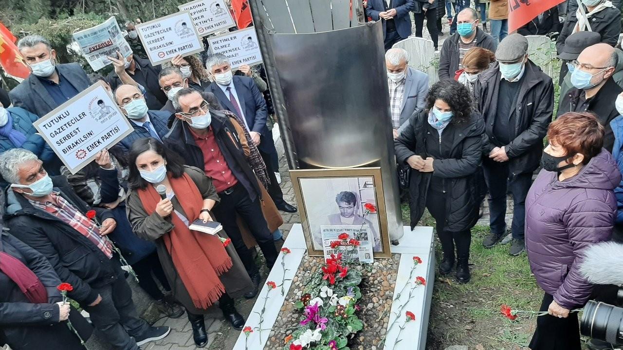 Gazeteci Metin Göktepe 25. ölüm yıldönümünde anıldı