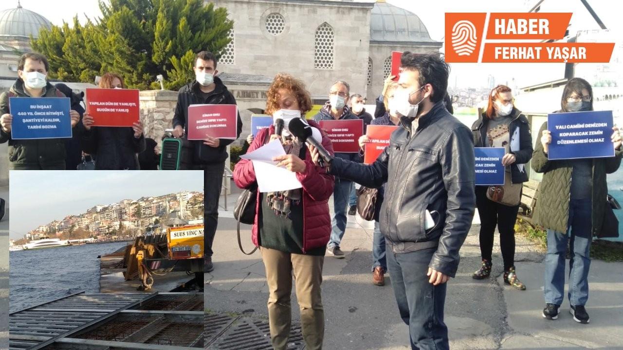 'Mimar Sinan yaya geçidini düşünemedi mi?'