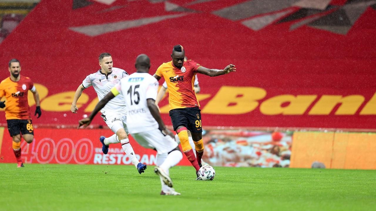 Galatasaray'dan 6 gollü galibiyet