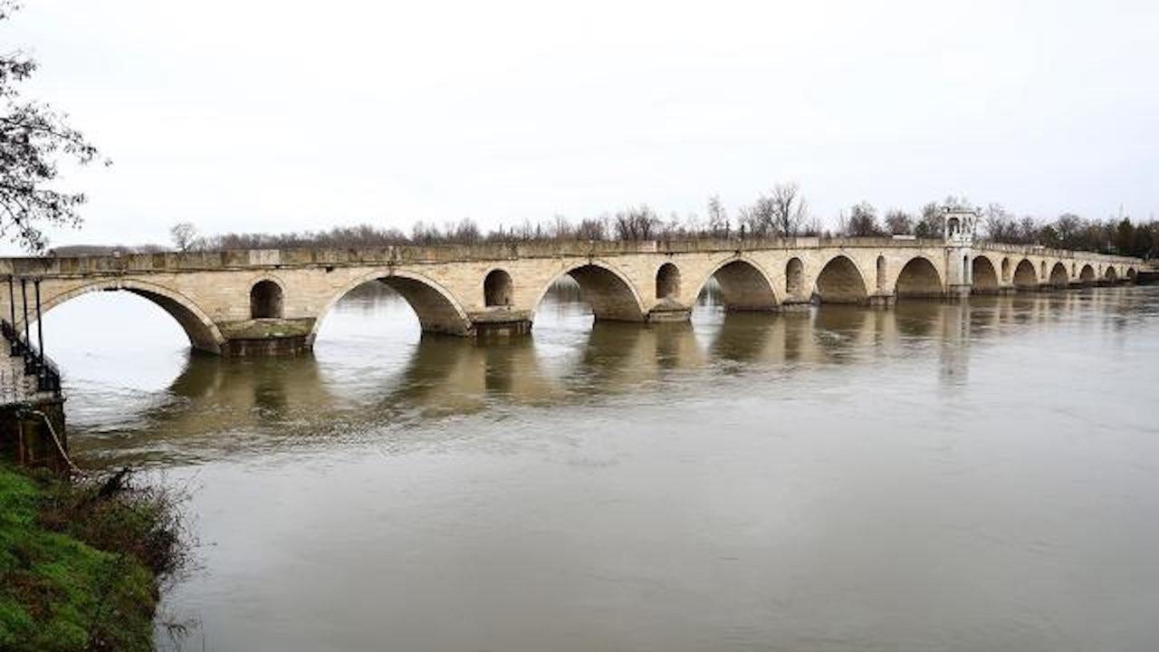 Edirne'de dün kuraklık vardı bugün taşkın riski