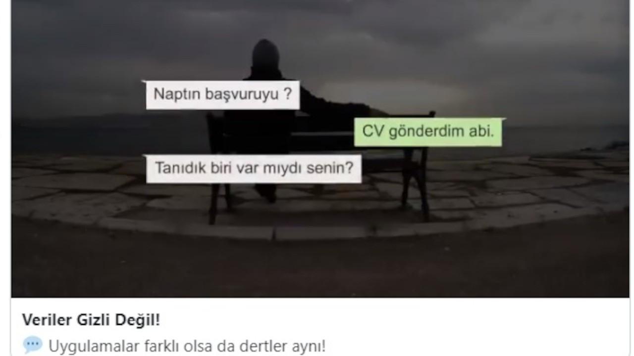 Saadet Partisi'nden yeni video: Verilerimiz gizli değil