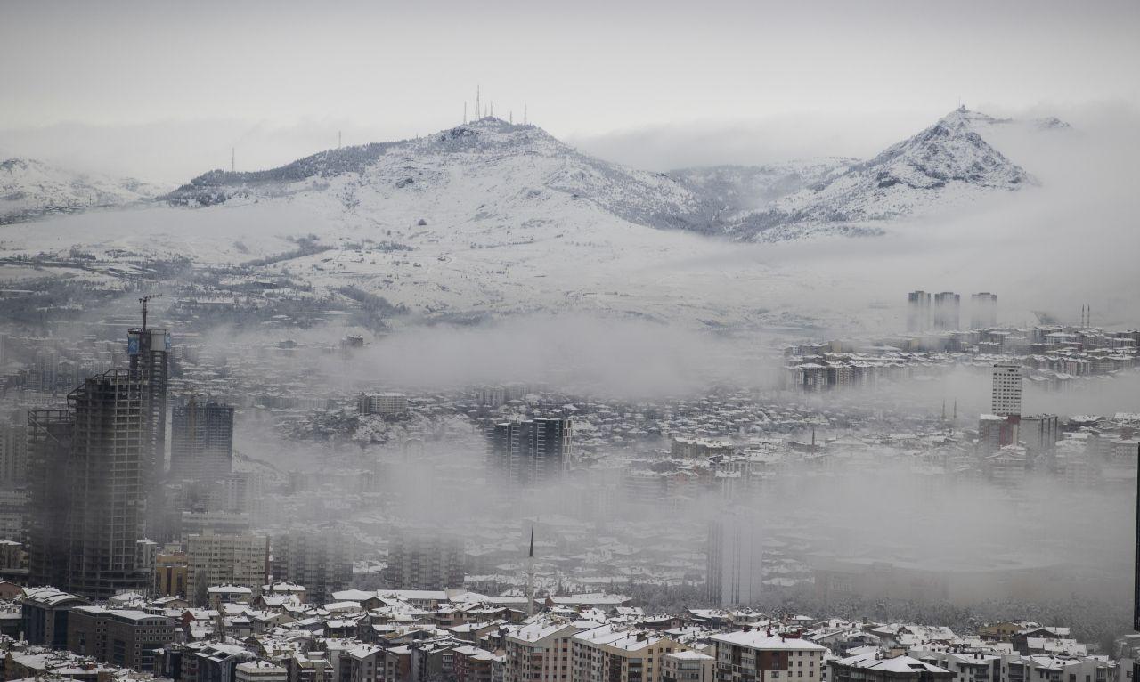 Ankara'dan kar yağışı manzaraları - Sayfa 2