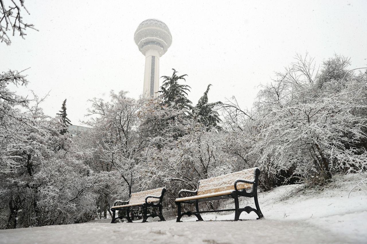 Ankara'dan kar yağışı manzaraları - Sayfa 4