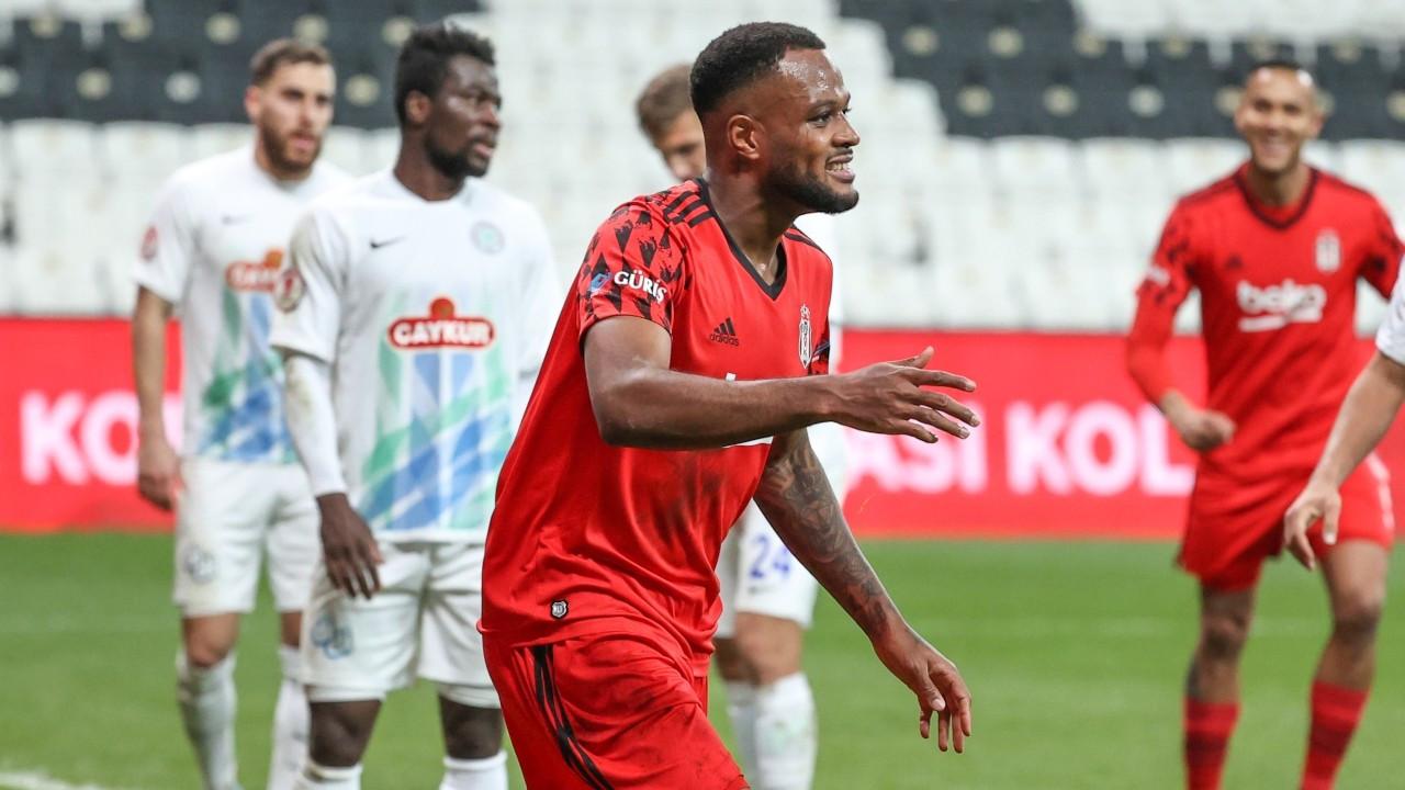 Beşiktaş, Larin'le turu geçti
